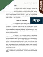 17/10/2017 Iniciativa de Ley de Cambio de Climático del Estado de Sonora.