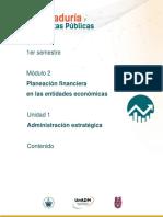 M2_U1. Contenido Planeacion Financiera en Las Entidades Economicas