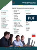 SOLIDWORKS Essentials Training Web
