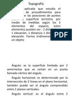 Introduccion a La Topografía Ujap 2