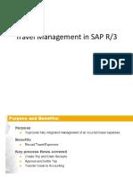 Travel Management in SAP