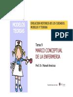 Tema 9 Marco Conceptual