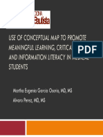 Use of Conceptual Map to Promote Meaningful Learning