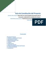 Acta de Constitución Del Proyecto (Template-pmstudykit)