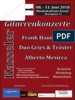 KS GitKonzerte 2018 Plakat A3