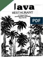 Java restaurant