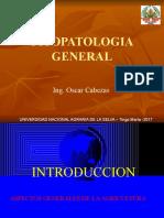 1 Introducción a La Fitopatologia 2017