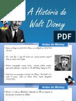 A História de Walt Disney