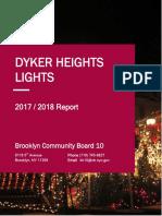 Dyker Heights Lights Report