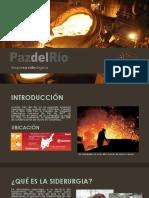 Sectores Industriales -PazdelRio