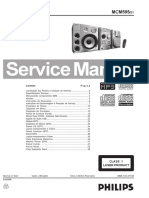 Philips MCM595 Service Manual