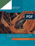The Major Rare-earth-element Deposits of Australia