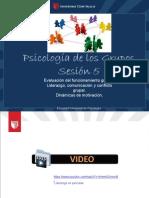 psicología de los grupos PPT 5