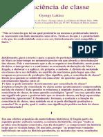 A consciência de classe - Gyorgy Lukács.pdf