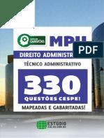 #MPU+-+Direito+Administrativo+-+330+Questões+Cespe+-+Mapeadas+e+Gabaritadas+(2017)+-+Estúdio.pdf