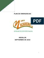 Plan de Emergencias Flota La Macarena