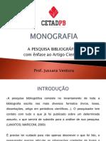 A Pesqisa Bibliográfica