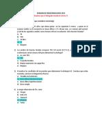 1. Examen Endocrinología 2013