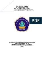 Buku Pedoman KKN Undiksha 2018