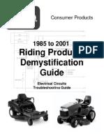 47347708 Toro Wheelhorse Demystification Electical Wiring Diagrams for All WheelHorse Tractors