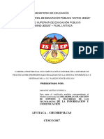Informe Del Primer Modulo