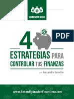 4 Estrategias Para Controlar Tus Finanzas