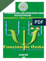 6 Funcion de Onda Interpretacion de La Mecanica Cuantica
