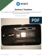 Asus Zenfone 2 Teardown
