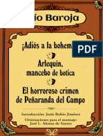 !Adios a la bohemia! Arlequin, mancebo de botica. El horroroso crimen de Penaranda del Campo - Pio Baroja - 24874 - spa.epub