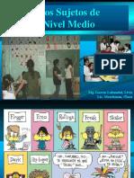 3Los Sujetos de Nivel Medio
