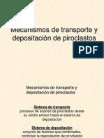 Capitulo 5c Mecanismos de Transporte y Depositacion 2018
