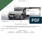 Peugeot 408 4 Puertas _ Peugeot Argentina