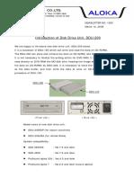NL1083 Introduction of Disk Drive Unit, DDU-200
