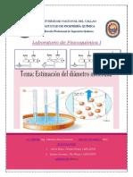 Diametro Molecular Fico1sem4