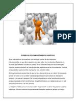 6.Ejemplos de Comportamiento Asertivo