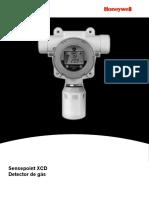 Manual Detector de Gás Sensepoint XCD Em Portugues