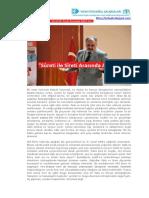 Prof. Dr. İhsan Fazlıoğlu-Sureti İle Sireti Arasında Akif Emre