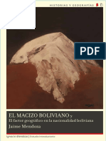 El Macizo Boliviano - Jaime Mendoza