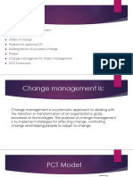 Change Management PM