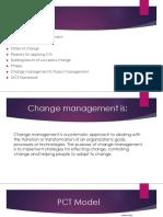 Change Management PM