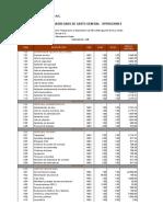 Precios Unitarios JRC Brocal 2 Wr