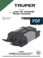Inversor de corriente Power Inverter