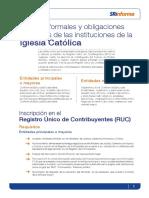 Guía del SRI para la Iglesia Católica