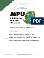 4. Resumão - Legislação Do MPU