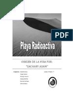 Teoría de la playa radioactitiva1111