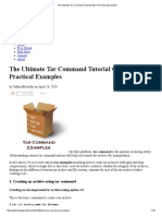 The Ultimate Tar Command Tutorial With 10 Practical Examples
