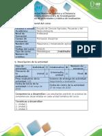 Guía de Actividades y Rúbrica de Evaluación. - Fase 6. Desarrollar La Evaluación Final POA