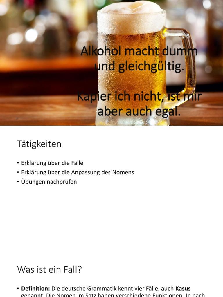 Wunderbar Alkohol Definition Foto Von