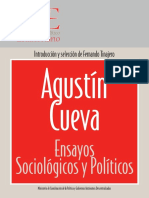 Agustín Cueva Ensayos Sociológicos y Políticos