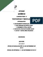 Informe- De Quimica 2